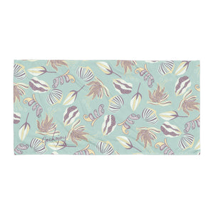Floating on a Calm Lagoon SG03 - Beach Towel-Geckojoy