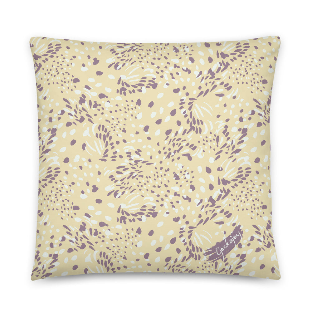 Kuaci Seeds Purple Indoor Pillow-Geckojoy
