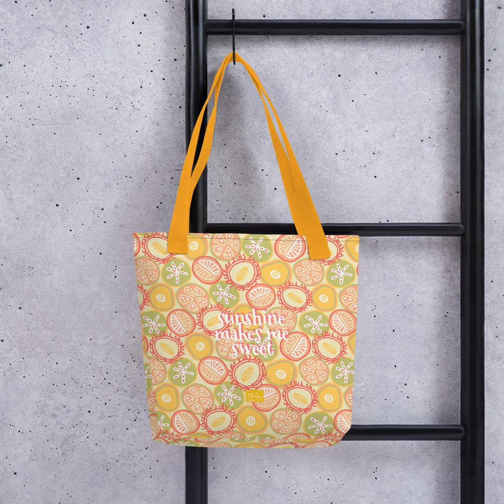 Sun-kissed Fruit Tote bag-Geckojoy