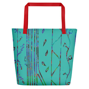 Ultramarine Beach Bag-Geckojoy
