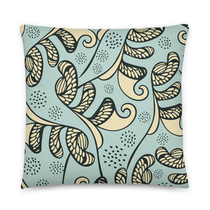 Sketches in the Sand Indoor Pillow-Geckojoy