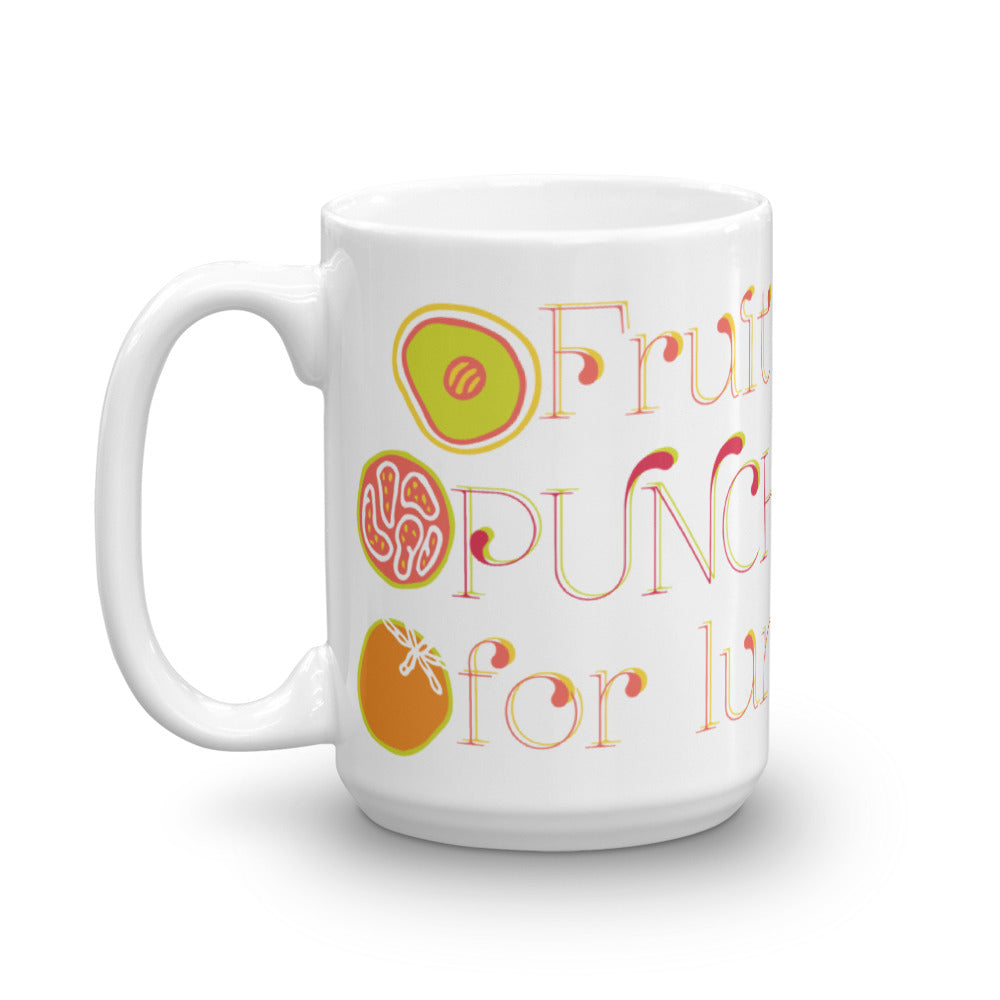 Fruit Punch For Lunch Mug-Geckojoy