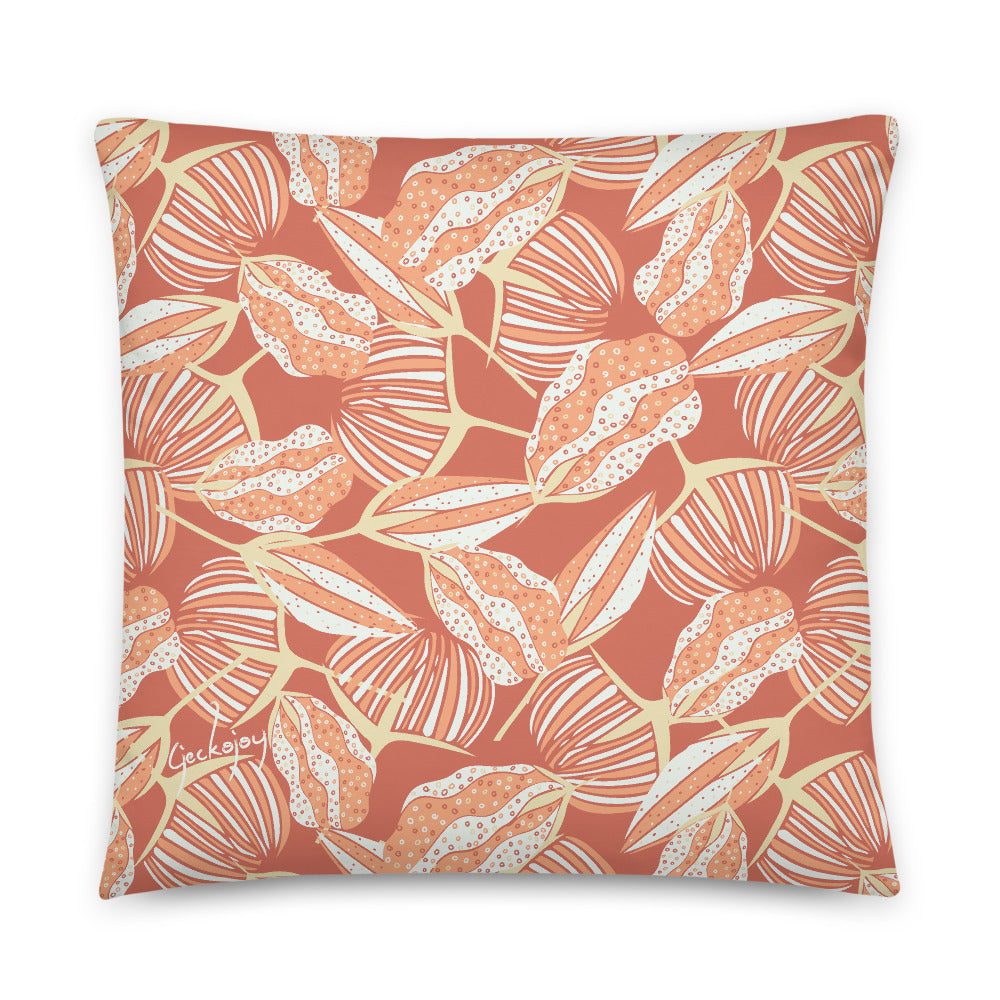 Estuary Seed Pods Indoor Pillow-Geckojoy
