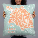 Turtley Yours Indoor Pillow-Geckojoy