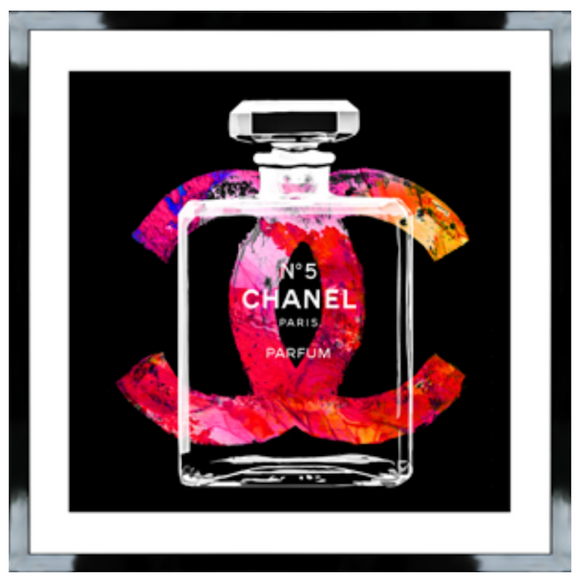 Chanel Bright Black Gloss Box Frame