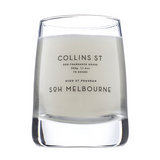 SOH Melbourne Clear Glass Candle 350g