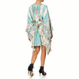 Camilla Double Layer Kimono Sleeve Dress