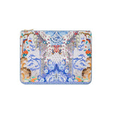 Camilla Small Canvas Clutch