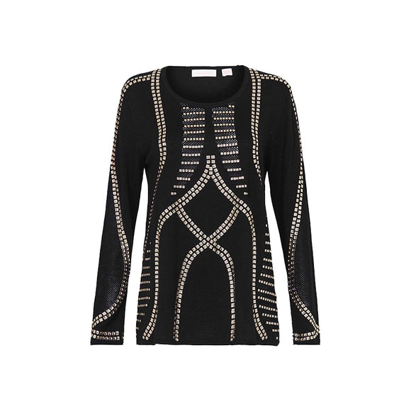 sass & bide Shout Knit Black