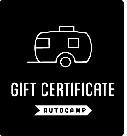 AutoCamp Gift Certificate