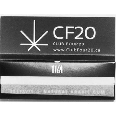 CF20 CANNABIS ROLLING PAPERS (5 pack)