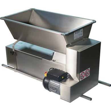 Italian Electric Crusher/De-Stemmer All Stainless Steel