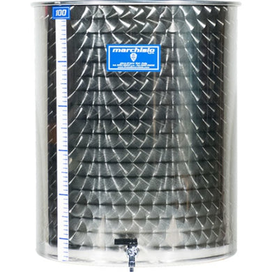 100 L Variable Capacity Tank - Low Profile Flat Bottom