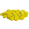 Crown Caps, Yellow with oxyliner (144 Pack)