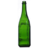 750ml CG Champagne Bottles - Flat Bottom Cork 12/Case