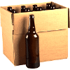 Beer Bottles 22 oz - Amber Bomber 12/Case