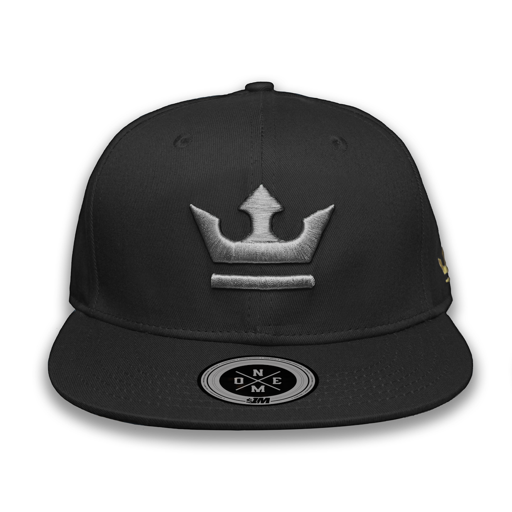 Gorra THE KING Black/Gray - 1M Clothing Co.