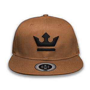 Gorra THE KING Light Brown/Black - 1M Clothing Co.