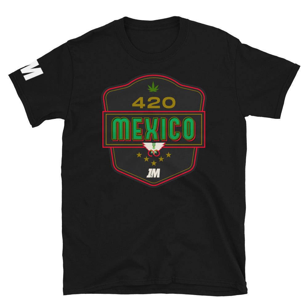 1M Playera 420 MÉXICO - 1M Clothing Co.