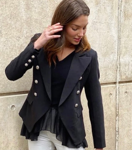 VERONICA BLAZER Black