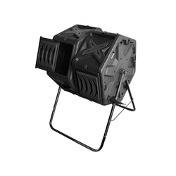 Twin Compost Tumbler - 140L Twin Barrel