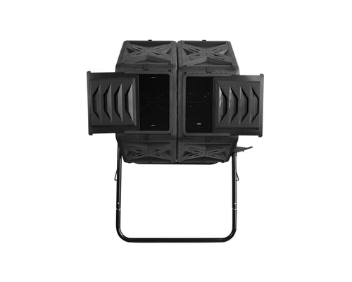 DECEMBER PRE-ORDER:  Twin Compost Tumbler - 140L Twin Barrel
