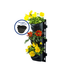 Vertical Hanging Garden - 3 Tier (includes 3 pots)