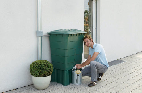 300 Litre mini water tank, green