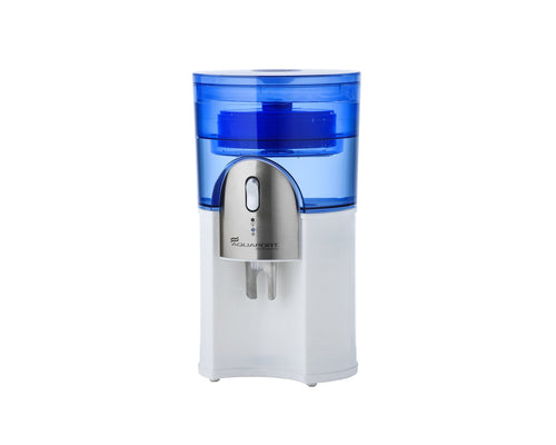 Desktop water cooler and water filter