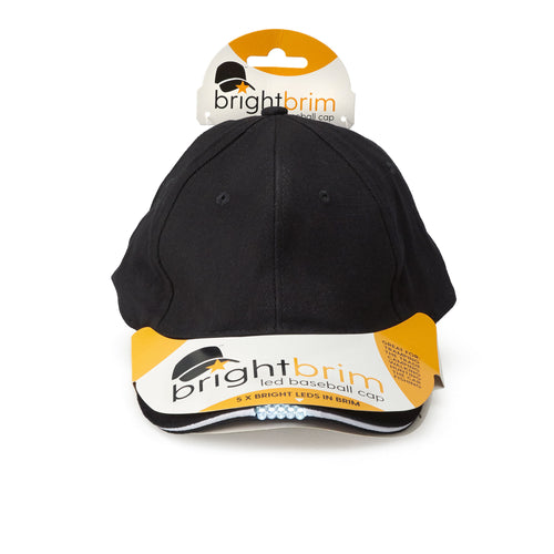 brightbrim LED Cap - Batteries included