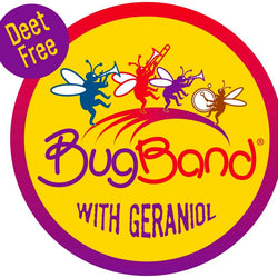 BugBand Deet Free Mosquito & Insect Repellent Bands - Pack of 4