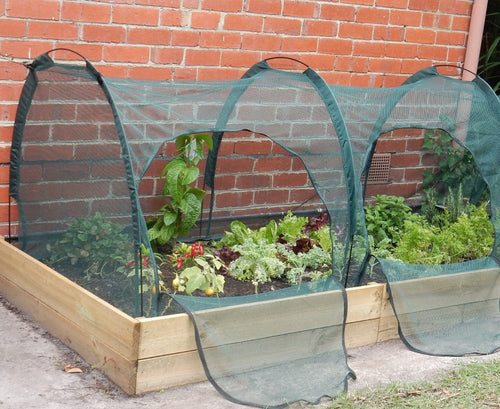 garden net growing tunnel