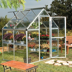 Greenhouse 6' × 4' - Silver