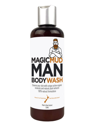 $10 CLEARANCE - Magic Mud Man Body Wash 250g - DEAL X 3