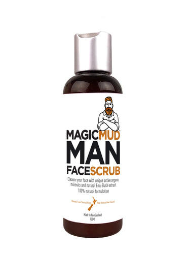Magic Mud Man Face Scrub 150g - DEAL X 3