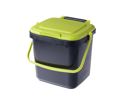 7 Litre kitchen compost bin caddy with handle