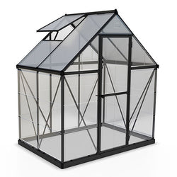 Greenhouse 6' × 4'  Hybrid - Charcoal