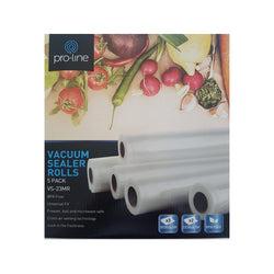 Vacuum Sealer Rolls - 5 pack