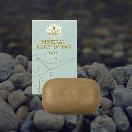 Zeosoft Natural Mineral Exfoliating Bar 100g