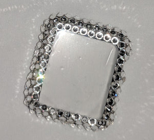 Swarovski Rhinestone Apple Watch Frame - Clear