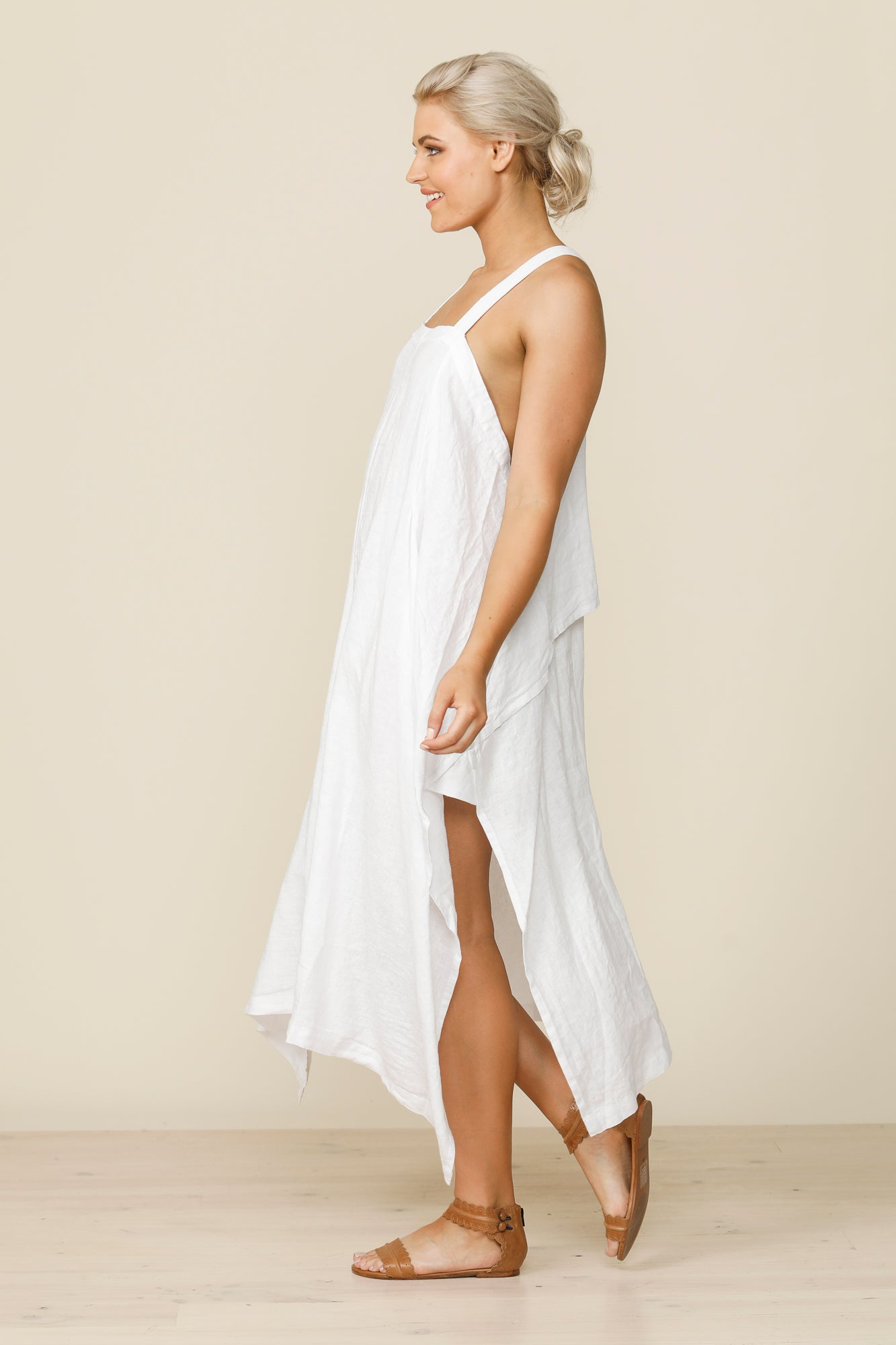 Cefalu Sundress - White