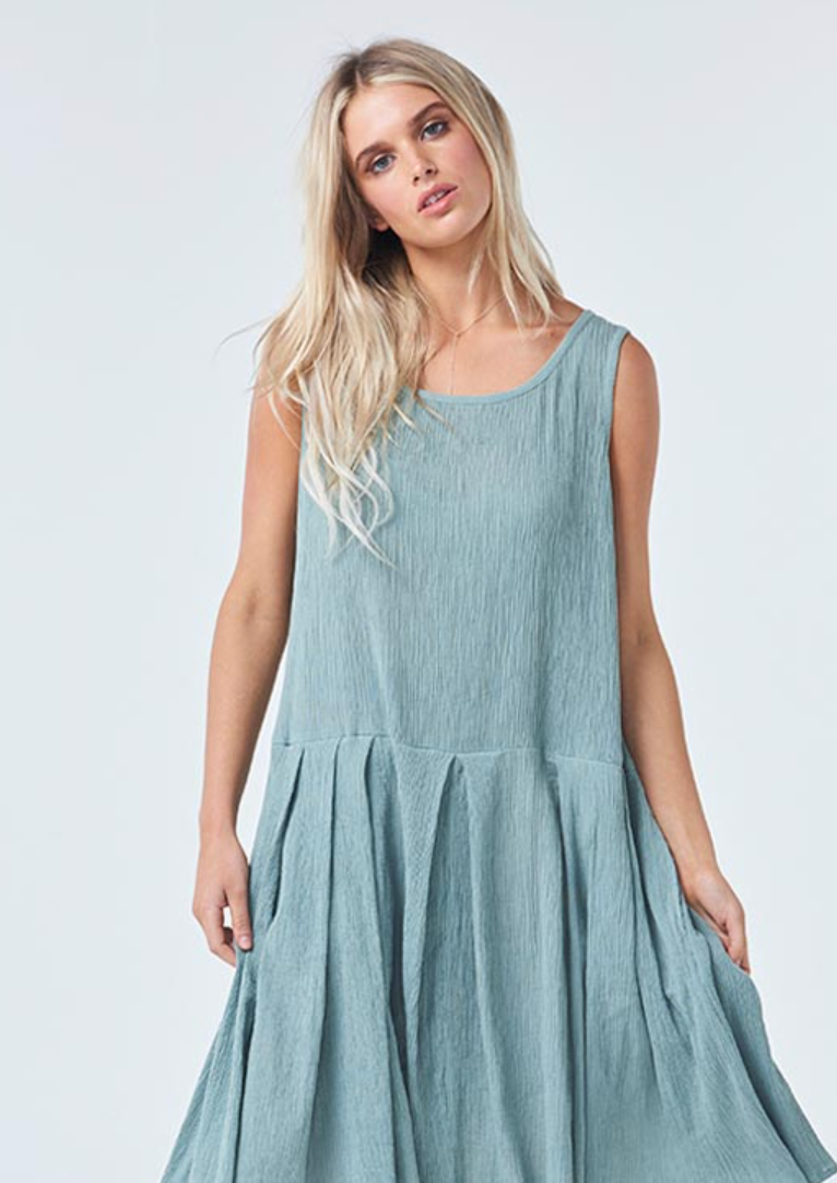 Bellarine Dress - Green