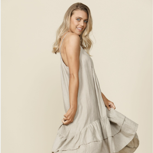 Potenza Dress - Natural