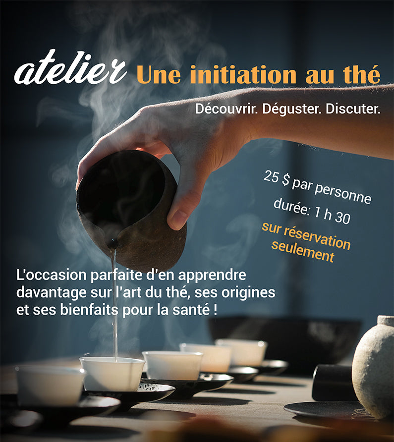atelier initiation au thé - tea workshop