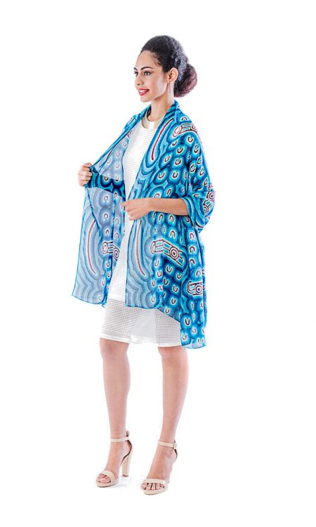 Storm Bird large wrap