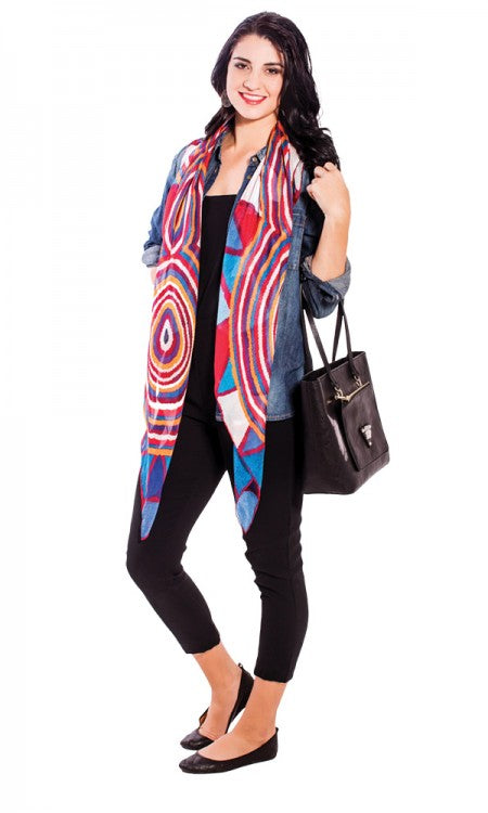 Women's Ceremony Square Scarf/Wrap