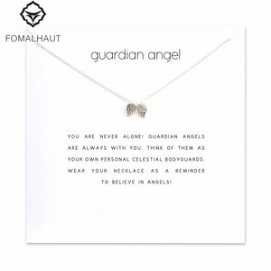 Guardian Angel Wings Pendant