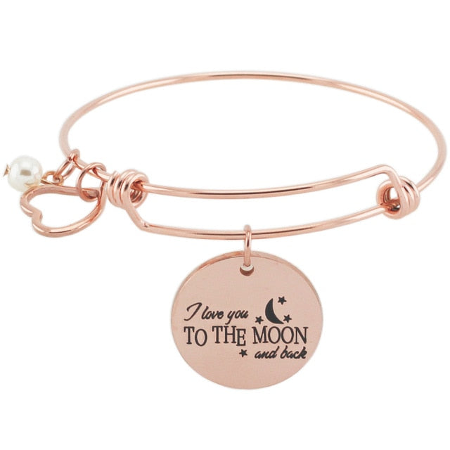 """Love You To The Moon"" Bracelet"