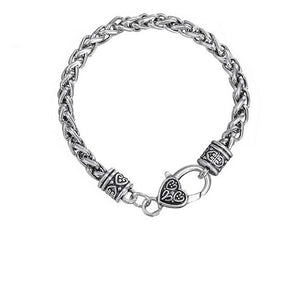 Antique Chain Silver Bracelet