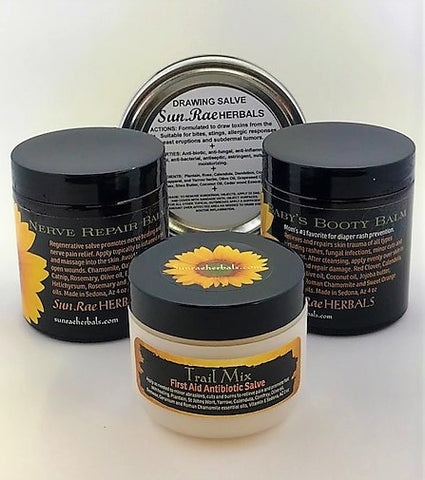 Herbal Balm Body Kit